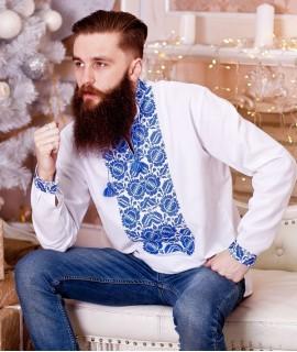 Мужская вышиванка Петриковка