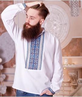 Чоловіча вишиванка Козацька (ручна вишивка)