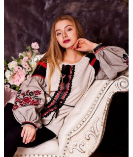 Женская вышиванка   Роза