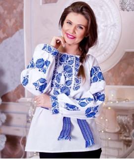 Женская вышиванка   Петриковка
