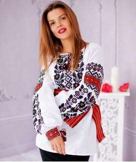 Женская вышиванка   Борщевка