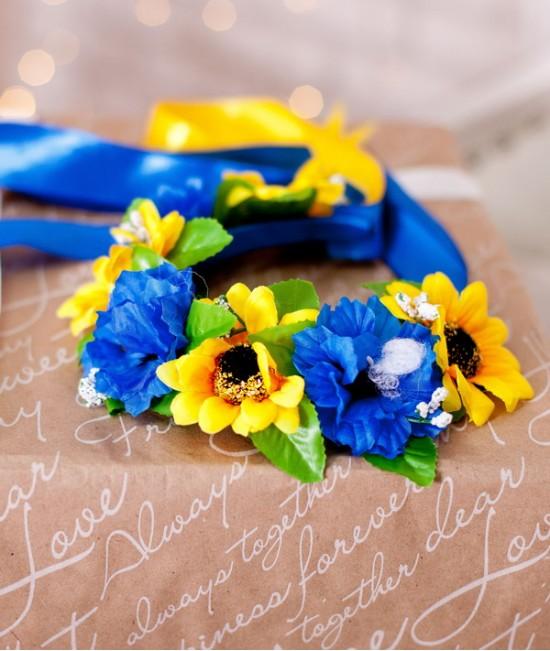 Веночек украинский - полевые цветы