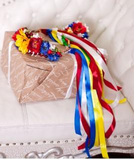 Український віночок Багатий - польові квіти